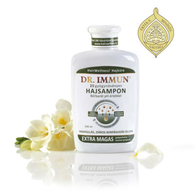 Dr. IMMUN 25 Gyógynövényes Hajsampon 250 ml