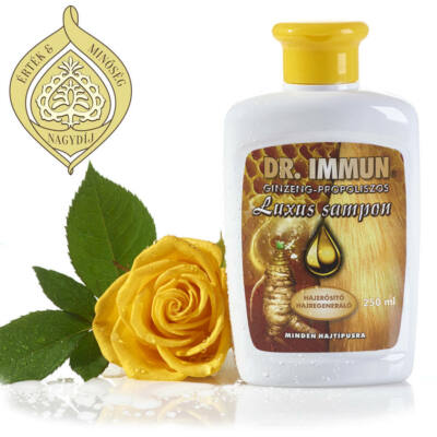 Dr. IMMUN Ginzeng-Propolisz Hajsampon 250 ml