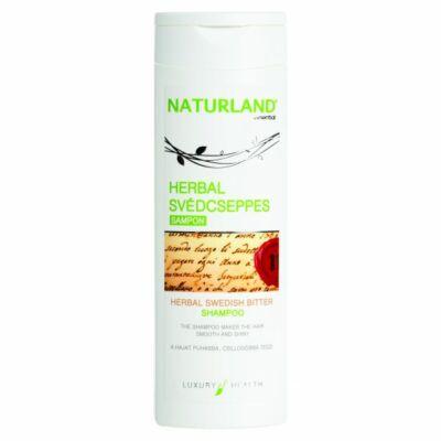 NATURLAND Herbál Svédcseppes hajsampon 200 ml