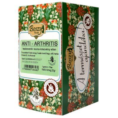 BOSZY Anti-Arthritis tea Reuma, Köszvény Ellen 20 filter