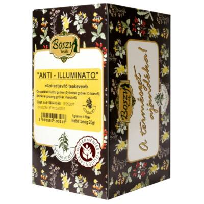 BOSZY Anti Illuminato teakverék 20 filter