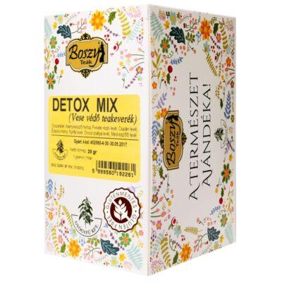 BOSZY Detox Mix Vesevédő Tea 20 filter