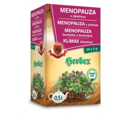 HERBEX Klimax tea Lóherével 20 filter