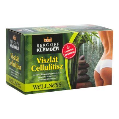 KLEMBER Viszlát cellulitisz tea 20 filter