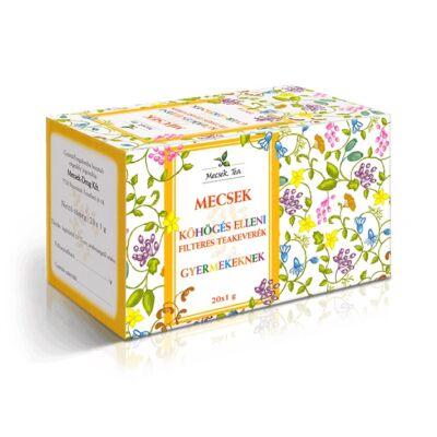 MECSEK Köhögés elleni gyermek tea 20 filter