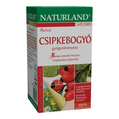 NATURLAND Csipkebogyó tea 20 filter