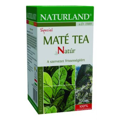 NATURLAND Máté tea 20 filter