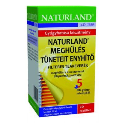 NATURLAND Meghűlés tüneteit enyhítő tea 20 filter