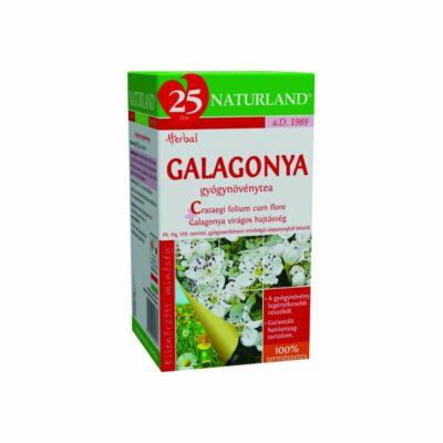 NATURLAND Galagonya tea 20 filter