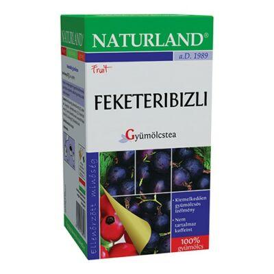 NATURLAND Gyümölcstea Feketeribizli 20 filter
