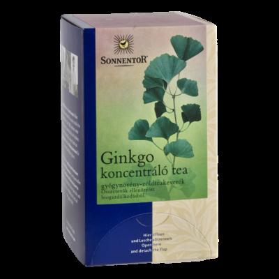 SONNENTOR Bio Ginkgo Koncentráló Tea 20 filter