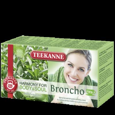 TEEKANNE Broncho Herbatea a Légutak Támogatásához 20 filter