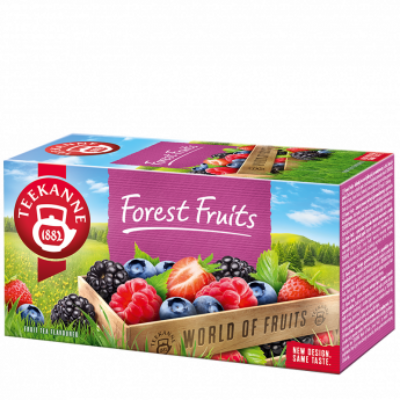 TEEKANNE Forest Fruits Erdeigyümölcs tea 20 filter