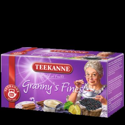 TEEKANNE Grannys Finest Szilvás Tea 20 filter