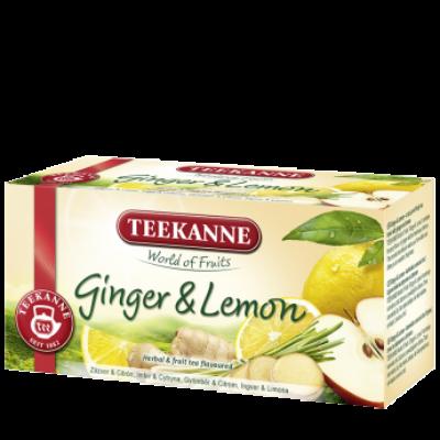 TEEKANNE Gyömbér és Citrom Tea 20 filter