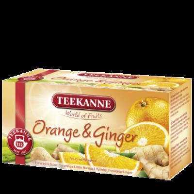 TEEKANNE Narancs-Gyömbér Tea 20 filter