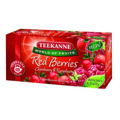 TEEKANNE Red Berries Vörösáfonya-Málna Tea 20 filter