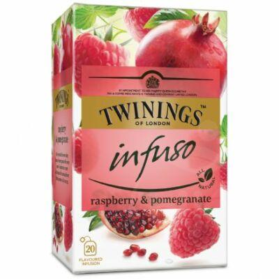 TWININGS Gránátalma és Málna Herbatea 20 filter