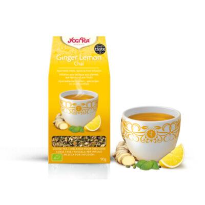 YOGI BIO Citromos gyömbér tea szálas 90 g