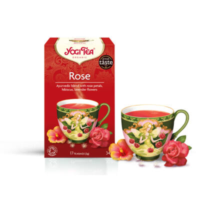YOGI BIO Rózsa tea 17 filter