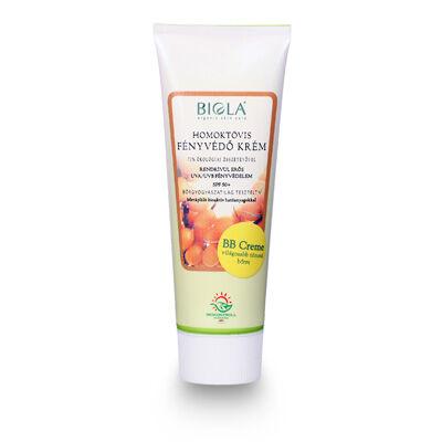 BIOLA Fényvédő krém homoktövissel, világos, SPF50, 75 ml
