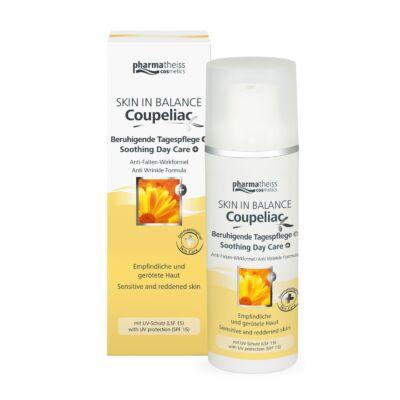 COUPELIAC Bőrnyugtató nappali arckrém FF15 fényvédő faktorral 50 ml