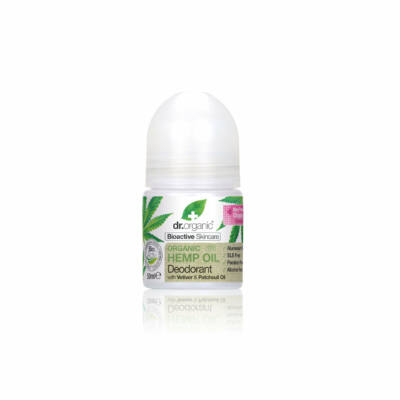 Dr. Organic Alumíniummentes golyós dezodor bioaktív kendermagolajjal 50 ml
