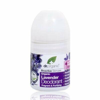 Dr. Organic Golyós dezodor Bio levendulával 50 ml