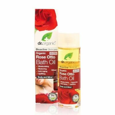 Dr. Organic Fürdőolaj Bio damaszkuszi rózsával 100 ml