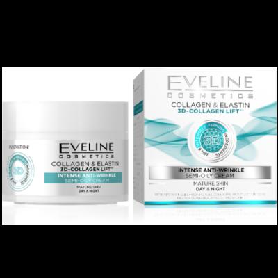 EVELINE 3D Collagen Intenzív Ránctalanító Arckrém 50 ml