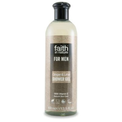 Faith For Men Tusfürdő Gyömbér-lime 400 ml