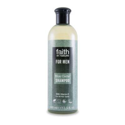 Faith For Men Sampon Kék cédrus 400 ml