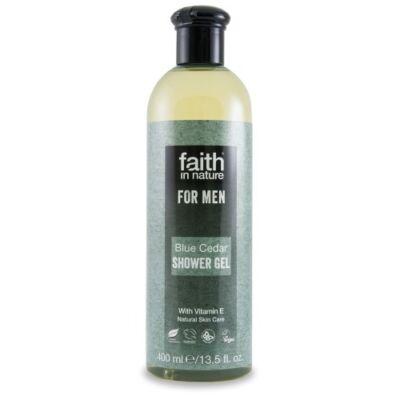 Faith For Men Tusfürdő Kék cédrus 400 ml