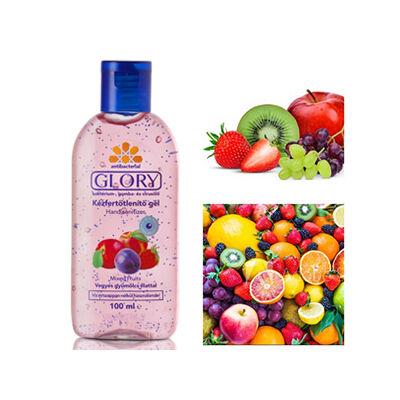 GLORY Kézfertőtlenítő gél Vegyes gyümölcsös 100 ml