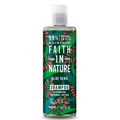 Faith In Nature Aloe Vera sampon 400 ml