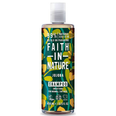 Faith In Nature Jojoba sampon 400 ml
