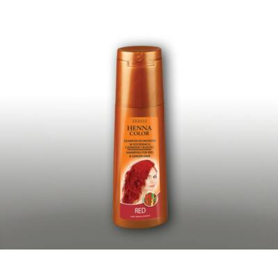HENNA COLOR Hajsampon Piros és Vörös árnyalatú hajra 250 ml