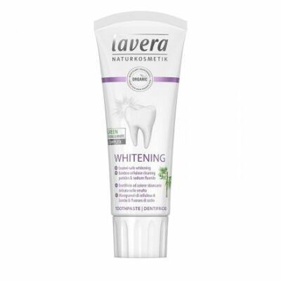 LAVERA Basis Sensitive Fogkrém Whitening fluoridos 75 ml