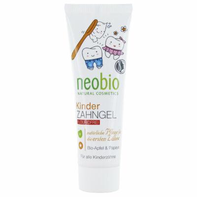 Neobio Fluoridmentes Gyermekfogkrém bio alma- és papayakivonattal 50 ml