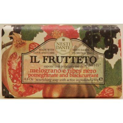 NESTI Dante Natúrszappan Il Frutteto Gránátalma-Feketeribizli 250 g
