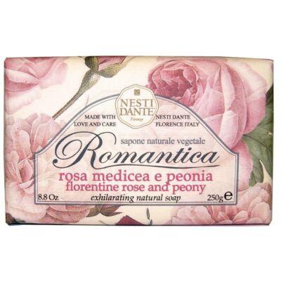 NESTI Dante Natúrszappan Romantica Rózsa és peónia 250 g
