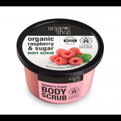 "Organic Shop ""Málnakrém"" cukros testradír 250 ml"