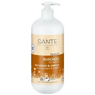 SANTE Family tusfürdő bio kókusz és vanília 950 ml