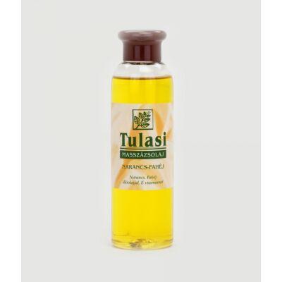 TULASI Masszázsolaj narancsbőrre, narancs-fahéj 250 ml