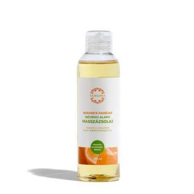 YAMUNA Növényi Masszázsolaj Narancs-Fahéj 250 ml