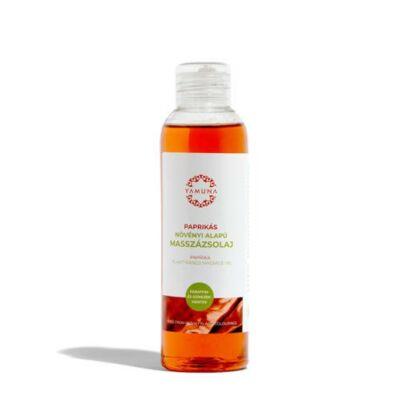 YAMUNA Növényi Masszázsolaj Paprika 250 ml