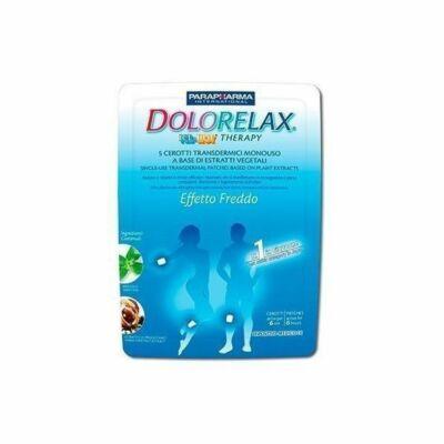 Dolorelax Hűsítő hatású bőrtapasz 5 db