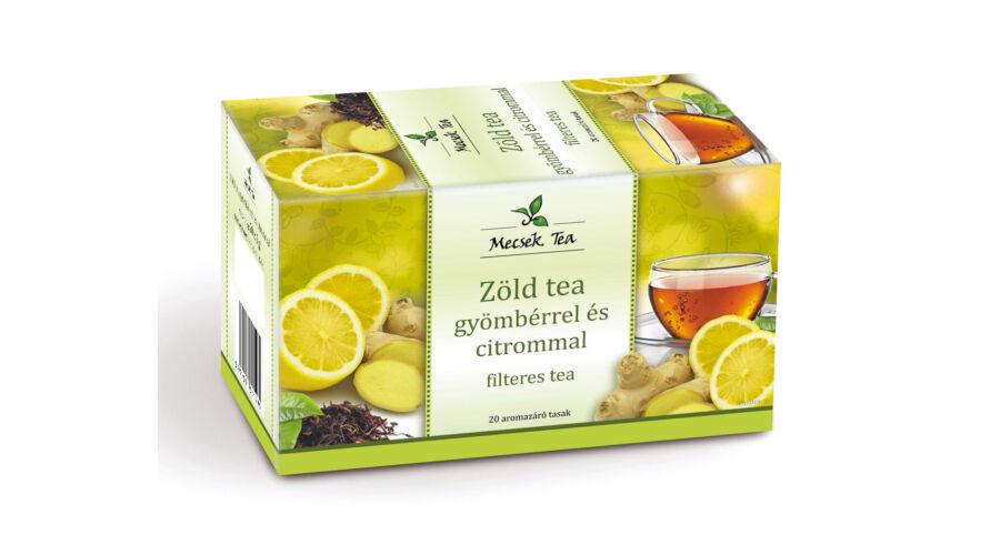 tea gyömbérrel látásra